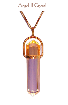 pendant angel 2 citrine